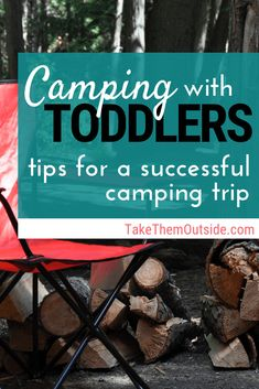 Planning a family camping trip this fall? Use these camping tips to make sure you have a safe and enjoyable vacation with your toddler. | #camping #campingtips #campingwithkids #toddlers #toddler #familycamping #takethemoutside #campinghacks