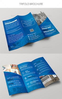 Cleaning Services TriFold Brochure Template Vol  Cleaning