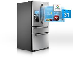 Smart Samsung refrigerator