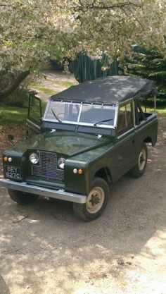LAND/ROVER. SERIES 2 88'' SWB.