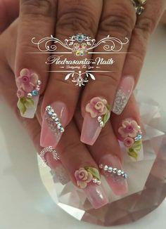 865 Mejores Imágenes De Uñas Con Piedras En 2019 Cute Nails Make