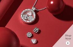 Luminous Elegance Pendant Charm - Pandora UK | PANDORA eSTORE