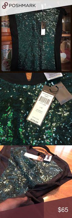 Selling this BCBG sequin top on Poshmark! My username is: l219. #shopmycloset #poshmark #fashion #shopping #style #forsale #BCBG #Tops