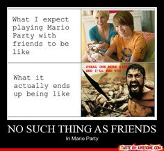The true story of playing video games with friends lol