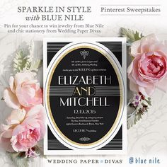 Pin to Win! Enter the @Blue Nile and @Wedding Paper Divas Sparkle In Style With Blue Nile Pinterest Sweepstakes. One lucky Grand Prize winner will win a Blue Nile Sapphire Eternity Ring and $500 of premium wedding stationery. Click to enter: http://sweeps.piqora.com/SparkleInStyle