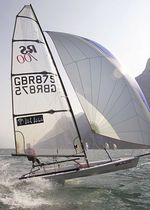 single-handed sailing dinghy : skiff (asymmetric spinnaker, trapeze) RS 700 LDC Racing Sailboats