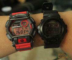 G-Shock GD-400 Versus G-Shock DW-6900MS
