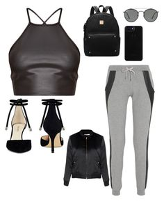 """""""Casual day out"""" by patriciareed111 on Polyvore featuring Lot78, Nine West, Ray-Ban and Glamorous"""