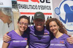 Un placer contar con voluntarios, organizadores y amigos como vosotros: Miquel y Silvia Todos juntos luchando contra la #leucemia
