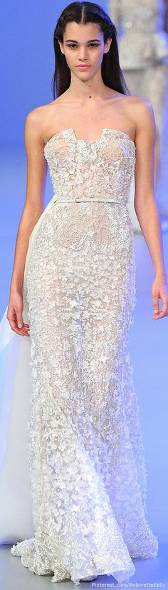 #Gorgeous embellished #Fabric @ Elie Saab Haute Couture | S/S 2014 | LBV ♥✤ | KeepSmiling |