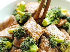 Carne de res con brócoli lista en 15 minutos