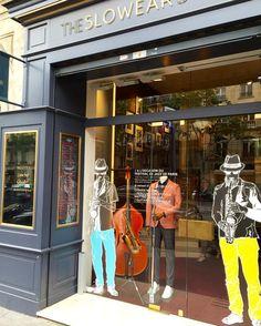 let's celebrate Paris Jazz Festival #slowear #paris #stgermain #jazz #festival #spring2016 by slowearofficial #tailrs