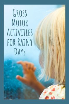 Unfortunately, rainy days can put a damper on any outdoor activity plans. Here are a few indoor gross motor activities for those days when your kids need extra movement and the weather won't cooperate. #zerowaste #sustainable Gross Motor Activities, Gross Motor Skills, Craft Activities For Kids, Outdoor Activities, Toys For Us, Kids Toys, Early Childhood Education, Elementary Education, Early Math