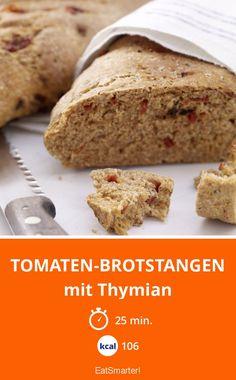 Tomaten-Brotstangen - mit Thymian - smarter - Kalorien: 106 kcal - Zeit: 25 Min.   eatsmarter.de