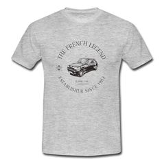 Tee-shirt homme RENAULT R5 ALPINE TURBO  The FRENCH Legend
