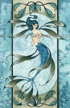 Fairy Art Artist Amy Brown: The Official Online Gallery. Fantasy Art, Faery Art, Dragons, and Magical Things Await. Mermaid Images, Mermaid Pictures, Fantasy Mermaids, Mermaids And Mermen, Fantasy Kunst, Fantasy Art, Elves Fantasy, Magical Creatures, Fantasy Creatures