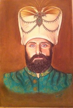 Sultan Suleiman _suleyman(Muhtesem yuzyil) by Yasminesweet on DeviantArt Sultan Pictures, Sultan Suleyman, Kosem Sultan, Ottoman Empire, Turkish Actors, Anime, Guys, Drawings, Artist