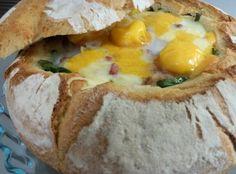 Pan de Hogaza relleno.