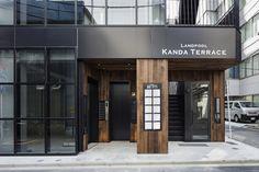 Key Operation Inc. Retail Architecture, Architecture Design, Building Facade, Building Design, Facade Design, Exterior Design, Cafe Exterior, Retail Facade, Bar Interior Design