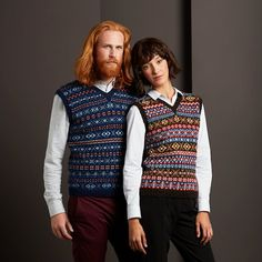 Authentic Fair Isle knitwear made in Fair Isle, Shetland. An exclusive collection of genuine Fair Isle jumpers, traditionally hand crafted by our own Artisans using Shetland wool. Fair Isle Knitting, Lace Knitting, Knit Crochet, Knitting Machine Patterns, Shetland Wool, Exclusive Collection, Knitting Projects, Knitwear, Jumper