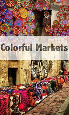 Travel: Colorful Markets