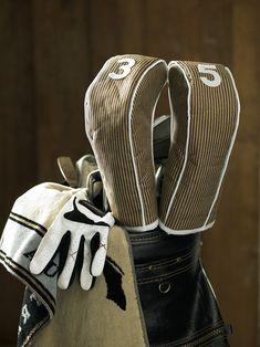 Golf club head covers
