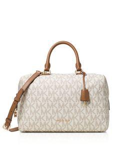 Michael Michael Kors Large Kirby Logo Satchel Satchel Handbags 896cefb20f9ad