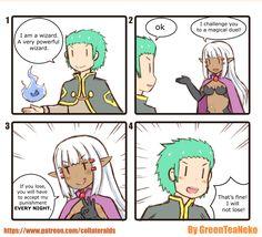 GreenTeaNeko is creating short manga stories | Patreon