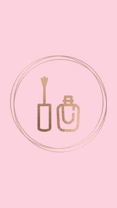 Nail Polish Instagram Logo, Pink Instagram, Instagram Nails, Cute Wallpaper Backgrounds, Pink Wallpaper, Cute Wallpapers, Chanel Wallpapers, Nail Logo, Nail Salon Decor