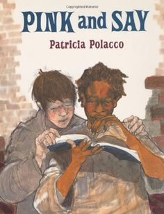 Pink and Say by Patricia Polacco, http://www.amazon.com/dp/0399226710/ref=cm_sw_r_pi_dp_YPSHrb16H0K3Y