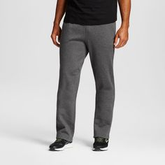 Men's Big & Tall Sizes Fleece Sweatpants Dark Gray Xlt - C9 Champion, Size: XL Tall, Charcoal Heather