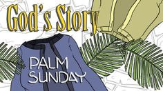 On Palm Sunday, we remember the time Jesus entered Jerusalem--and everybody started praising him! This was even prophesied many years before in Zechariah You… Sunday School Activities, Church Activities, Bible Activities, Sunday School Lessons, Sunday School Crafts, Easter Activities, Nursery Activities, Religion Activities, Easter Games