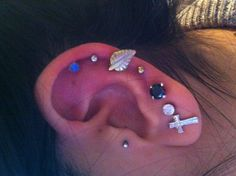 Oreille percing