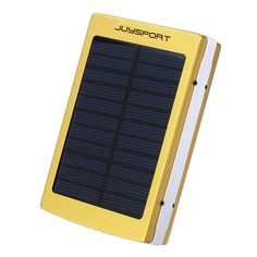 juysport Solar mobile power , to adapt to all mobile phones MP3 mp4. Small volume, light weight, easy to carry, wallet size, convenient and practical. Seiko manufacturing, fashionable and beautiful. Apply to the device, mobile phone (apple, samsung,sony, etc.), digital camera, MP4\3 and other digital products. The product output \ input end hole is different, so as to avoid the use of plug error problem. Polymer high capacity rechargeable battery use Japanese seiko protection board, safe…