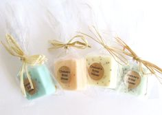 75 Wedding Favors- Soap Favors - Party Favors -Bridal Shower - Rustic Wedding - Custom Wedding Favors in your Wedding colors on Etsy, $112.50