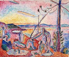 Matisse, Lujo, calma y voluptuosidad (1904)