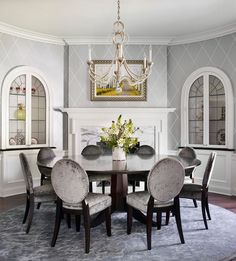 Traditional Dining Room in Chicago