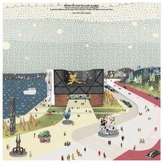 gosplan, Francesco Librizzi, Raffaella Parodi, Valter Scelsi · Guggenheim Helsinki Design Competition · Divisare