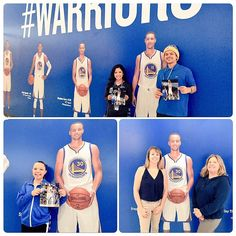 #DubNation was thanked via random acts of social media kindness here on #GSWSocial Night. Autographs, giveaways & more!