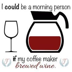 Now, we just need to research which wine will pair best with pancakes and bacon! #WineMemes #winequotes #WineWednesday