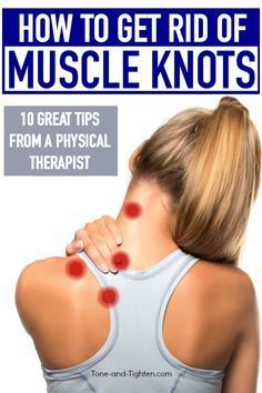 How do you get rid of muscle knots? What are muscle knots? Why do you get muscle knots? 10 simple things you can do right now at home to eliminate your muscle knots. Learn all about this common condition in your neck, Neck And Shoulder Exercises, Back Pain Exercises, Shoulder Workout, Neck Stretches, Shoulder Exercises Physical Therapy, Posture Exercises, Neck Muscle Exercises, Upper Back Stretches, Scoliosis Exercises