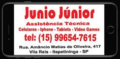 Junio Júnior Assistência Técnica Celulares - Iphone - Tablets - Video Games