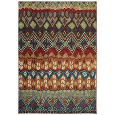 Woven Karastan Tashkent Ginger Bread Nylon Rug (8' x 10')   Overstock™ Shopping - Great Deals on Karastan 7x9 - 10x14 Rugs