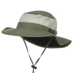 UPF 50  Explorer Mesh Outdoor Hat - Fossil