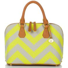 Things that I need - the Vivian Chevron Stripe Dome bag from Brahmin.  $295 available here (search for chevron)