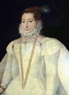Unknown lady - 1565 - detail