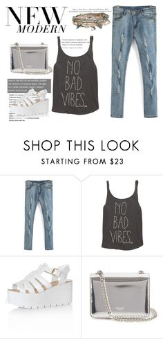 """""""Jeans"""" by lynnesummersxx ❤ liked on Polyvore featuring Billabong, H&M, Glamorous, Rochas, Aéropostale, women's clothing, women's fashion, women, female and woman"""