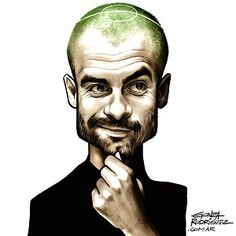 Nessun allenatore nasce imparato o Pep Guardiola Pep Guardiola, Football Icon, Football Art, Football Players, Funny Caricatures, Celebrity Caricatures, Cartoon Faces, Cartoon Styles, Sports Art
