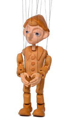 3D Printed Marionette Facebook Sign Up, 3d, Printed