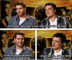 I'm laughing so hard right now. Liam takes it so seriously... and then there's Josh. <3